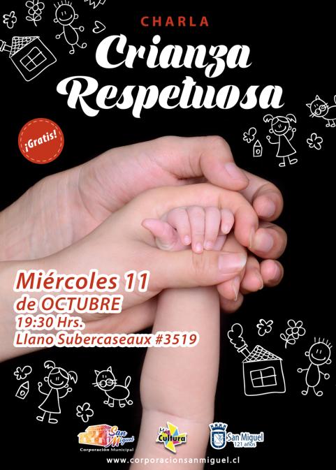 Afiche_CharlaCrianza